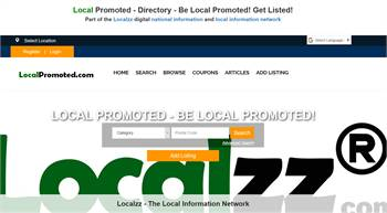 Local Promoted - Directory - Be Local Promoted! Get Listed!