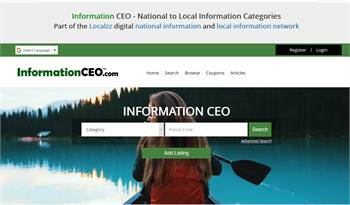 Information CEO - National to Local Information Categories
